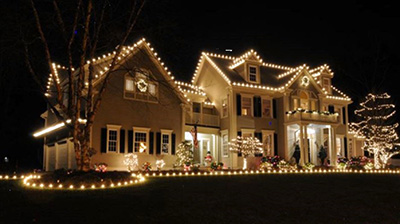 Exciting Pictures Of Christmas Decorated Houses 38 With Additional Home  Design Ideas With Pictures Of Christmas