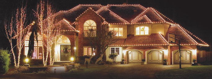residential christmas lights installation